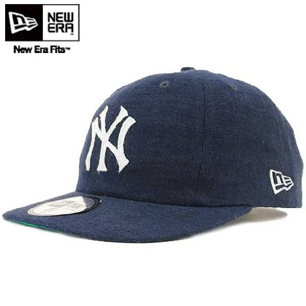 ニューエラ 8パネル1920キャップ クーパーズタウン コレクション ニューヨーク ヤンキース ネイビー ホワイト New Era 8-Panel 19Twenty Cap Linen COOPERS TOWN|cio