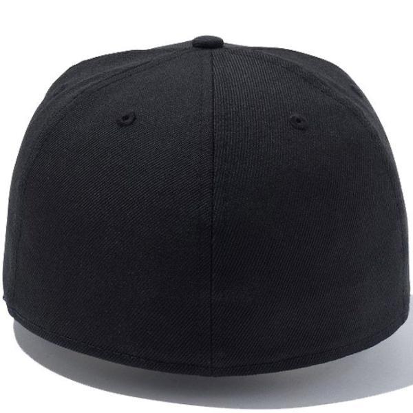 エムティーヴィー×ニューエラ 5950キャップ マルチロゴ ブラック ムーンビーム Mtv×New Era 59Fifty Cap Multi Logo Black Moon Beam|cio|02
