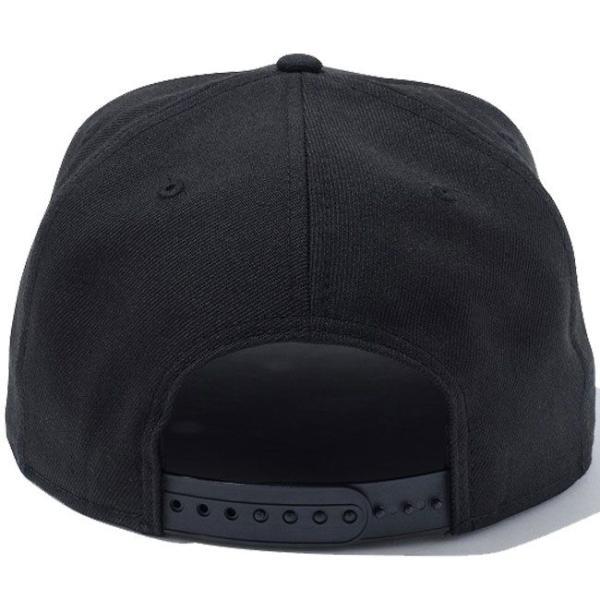 エムティーヴィー×ニューエラ 950スナップバック キャップ ホワイトロゴ ブラック ホワイト Mtv×New Era 9Fifty Snapback Cap White Logo Black White|cio|03