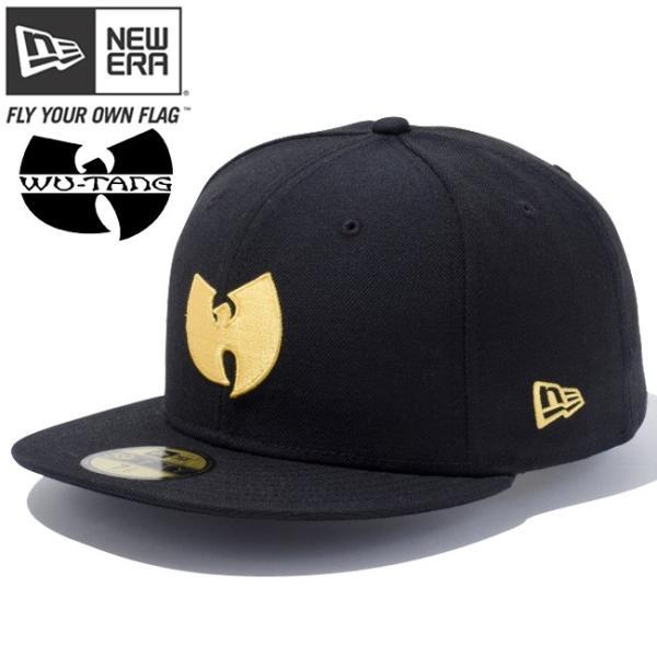 ウータンクラン×ニューエラ 5950キャップ ゴールドロゴ ウータン ブラック コーンシルク Wu-Tang Clan×New Era 59FIFTY Cap Gold Logo Wu-Tang Black cio