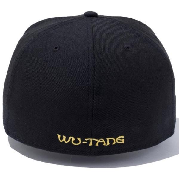 ウータンクラン×ニューエラ 5950キャップ ゴールドロゴ ウータン ブラック コーンシルク Wu-Tang Clan×New Era 59FIFTY Cap Gold Logo Wu-Tang Black cio 02