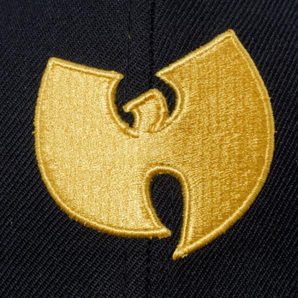 ウータンクラン×ニューエラ 5950キャップ ゴールドロゴ ウータン ブラック コーンシルク Wu-Tang Clan×New Era 59FIFTY Cap Gold Logo Wu-Tang Black cio 03