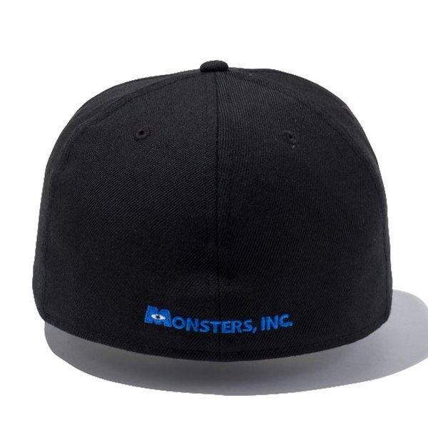 モンスターズインク×ニューエラ 5950キャップ マルチロゴ フレンズ ブラック マルチカラー ホワイト Monsters Inc×New Era 59FIFTY Cap Multi Logo Friends|cio|03