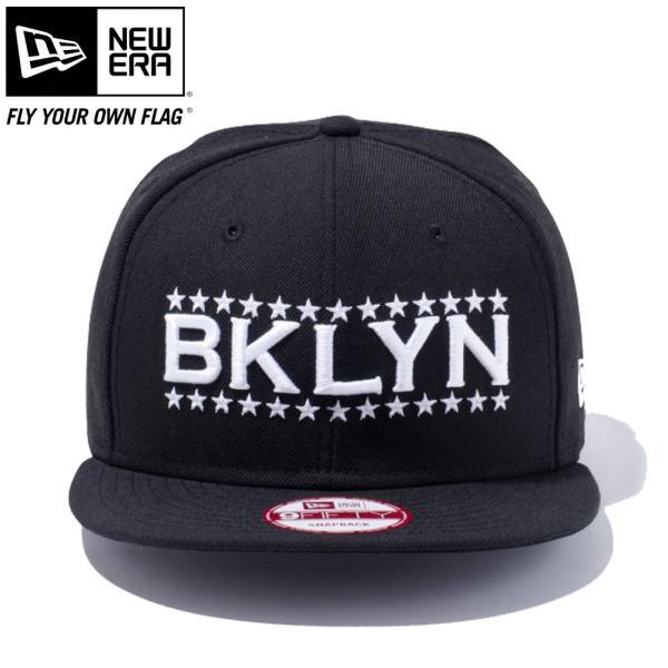 ニューエラ 950 スナップバック ニューヨークシティ ブルックリン ブラック スノーホワイト New Era 9Fifty Snap Back New York City Brooklyn Black Snow White|cio|02