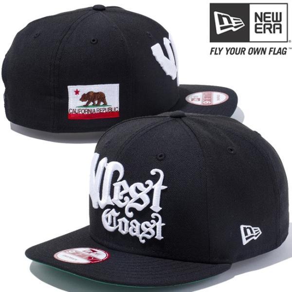 ニューエラ 950キャップ カリフォルニアリパブリック ウエストコースト ブラック スノーホワイト New Era 9FIFTY Cap CALIFORNIA REPUBLIC West Coastn Black cio