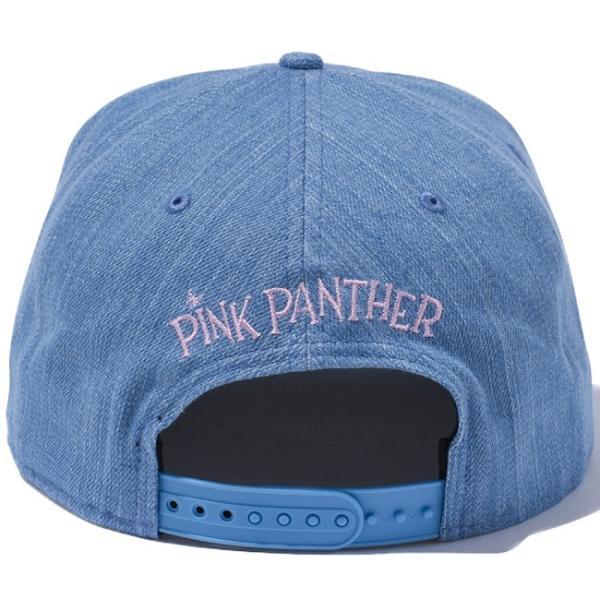 ピンクパンサー×ニューエラ 950 スナップバック ウォッシュドデニム オフィシャルカラー ローズ Pink Panther×New Era 9Fifty Snap Back Denim Rose|cio|03