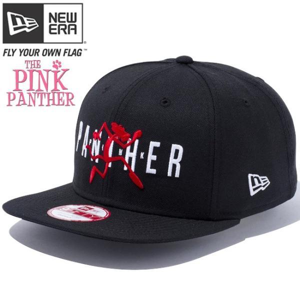ピンクパンサー×ニューエラ 950 スナップバック オリジナルフィット キャップ ブラック ブラック Pink Panther×New Era 9Fifty Original Fit Snap Back|cio