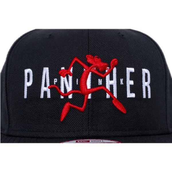 ピンクパンサー×ニューエラ 950 スナップバック オリジナルフィット キャップ ブラック ブラック Pink Panther×New Era 9Fifty Original Fit Snap Back|cio|03