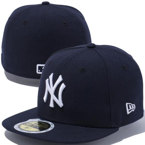 ニューエラ 5950キッズキャップ チーム ストラクチャー フィッティド ニューヨーク ヤンキース New Era 59FIFTY Kids Cap Team Fitted New York Yankees cio 03