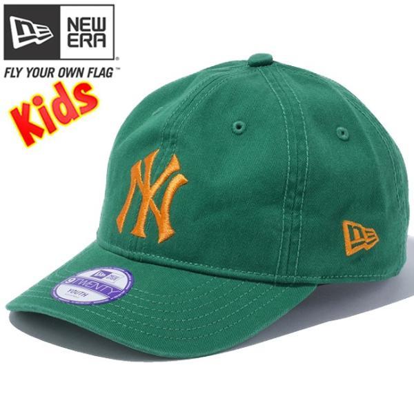 ニューエラ 920 キッズ キャップ ベーシックコットン ニューヨークヤンキース カスタム New Era 9Twenty Kids Cap Basic Cotton New York Yankees Custom|cio