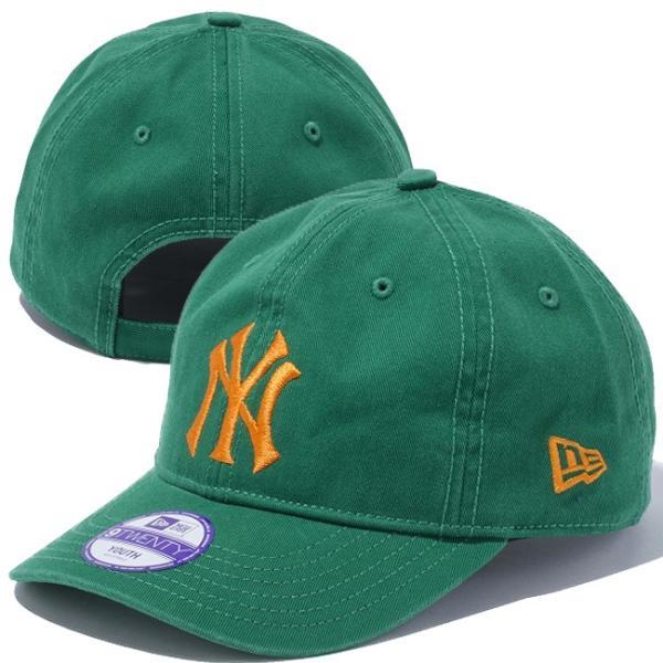 ニューエラ 920 キッズ キャップ ベーシックコットン ニューヨークヤンキース カスタム New Era 9Twenty Kids Cap Basic Cotton New York Yankees Custom|cio|03