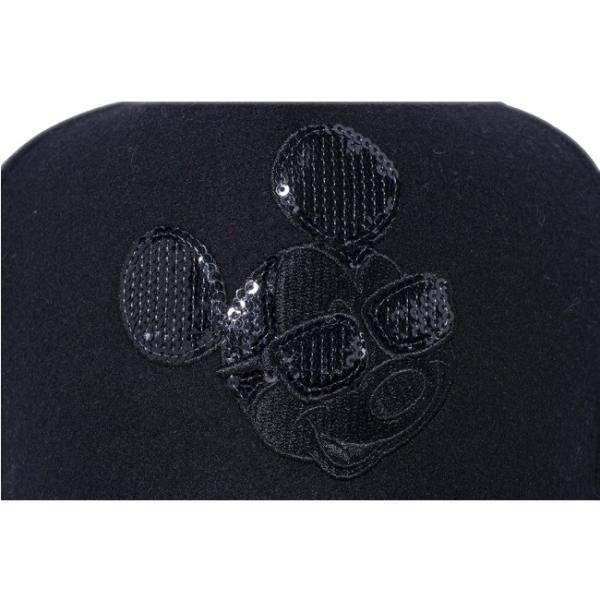 ディズニー×ニューエラ 940キャップ ディーフレームトラッカー シークインド ミッキーマウス Disney×New Era 9Forty Cap D-Frame Trucker Mickey Mouse|cio|03
