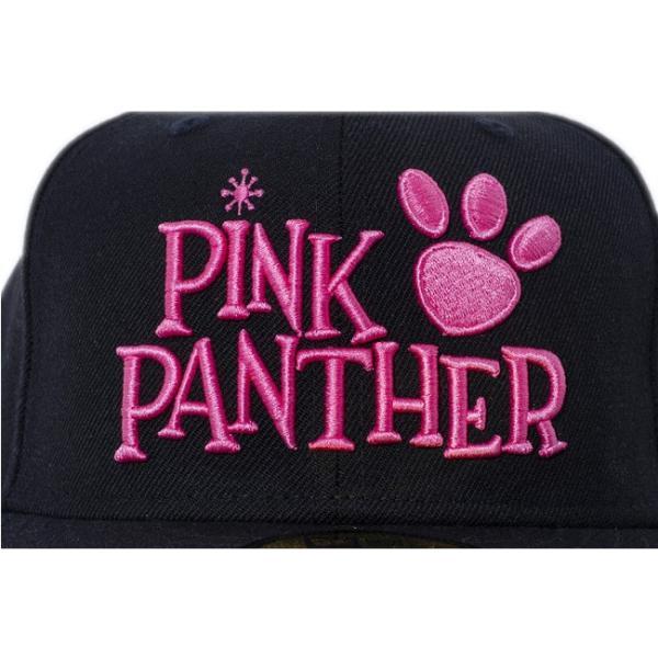 ピンクパンサー×ニューエラ 5950キャップ アンダーバイザー ロゴ ブラック ブラック Pink Panther×New Era 59Fifty Cap Under Visor Logo Black cio 03
