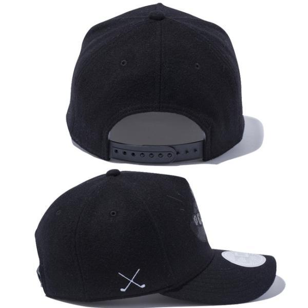 ディズニー×ニューエラ 940キャップ ゴルフ ディーフレーム ブラックロゴ シークインド ミッキーマウス Disney×New Era 9FORTY Cap Golf D-Frame Black Logo|cio|02
