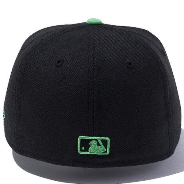 ニューエラ 5950キッズキャップ ツートーンボディ MLB ニューヨークヤンキース ブラック グリーン New Era 59FIFTY Kids Cap 2Tone Body MLB New York Yankees|cio|02
