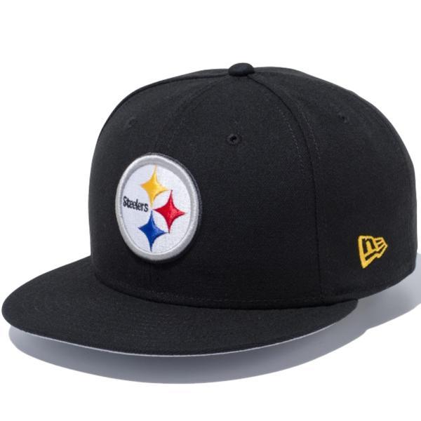 ニューエラ 950 スナップバック キャップ NFLカスタム ピッツバーグスティーラーズ ブラック New Era 9FIFTY Snapback Cap NFL Custom Pittsburgh Steelers|cio|03
