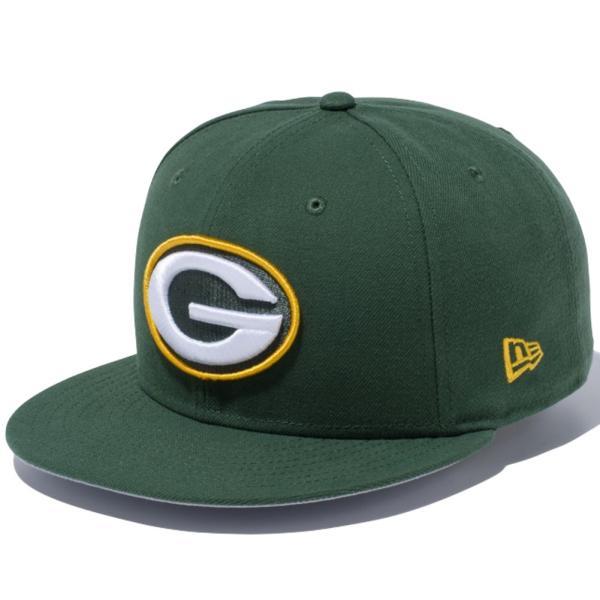 ニューエラ 950 スナップバック キャップ NFLカスタム グリーンベイパッカーズ シラントログリーン New Era 9FIFTY Snapback Cap NFL Custom Green Bay Packers|cio|03