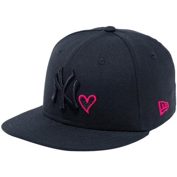 ニューエラ 950キッズキャップ スナップバック ハートロゴコレクション ニューヨークヤンキース New Era 9FIFTY Kids Cap Snap Back Heart New York Yankees|cio