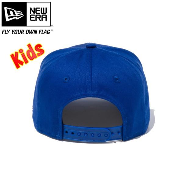 ニューエラ 950チャイルド スナップバック キャップ ミニロゴ カーズ 消防車 ライトロイヤル マルチカラー ホワイト New Era 9FIFTY Child Snapback Cap|cio|02
