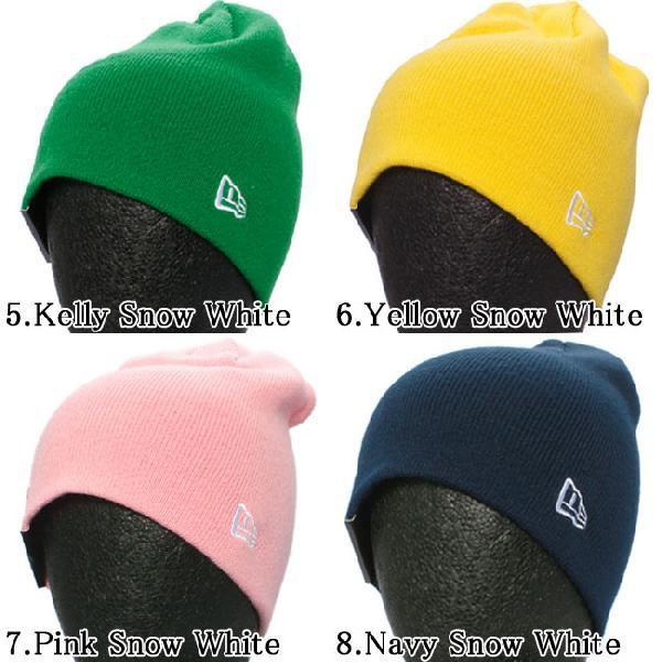 ニューエラ キッズニットキャップ ベーシックビーニー 8カラーズ New Era Kids Knit Cap Basic Beanie 8colors|cio|03