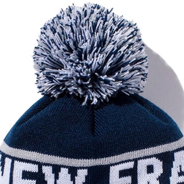 ニューエラ キッズニットキャップ ポンポンニット ニューエラ ネイビー グレー ホワイト スノーホワイト New Era Kids Knit Cap Pom-Pon Knit New Era|cio|02