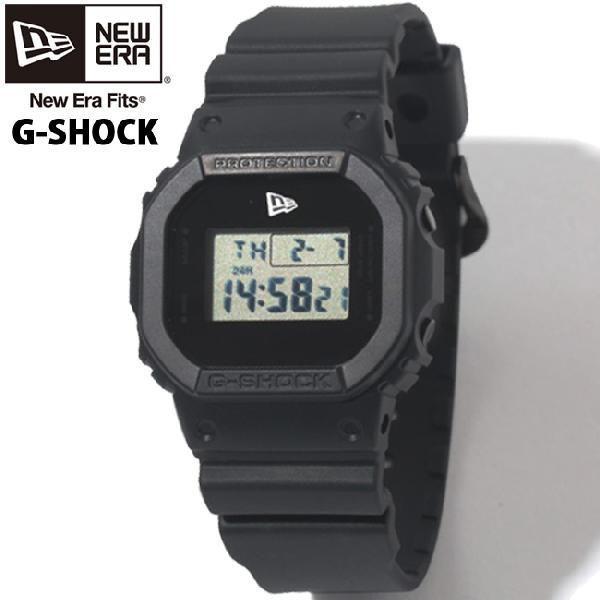 カシオ×ニューエラ ウォッチ バイ ジーショック ブラック ホワイト Casio×NewEra watch by G-Shock Black White cio