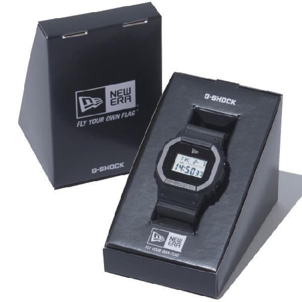カシオ×ニューエラ ウォッチ バイ ジーショック ブラック ホワイト Casio×NewEra watch by G-Shock Black White cio 02