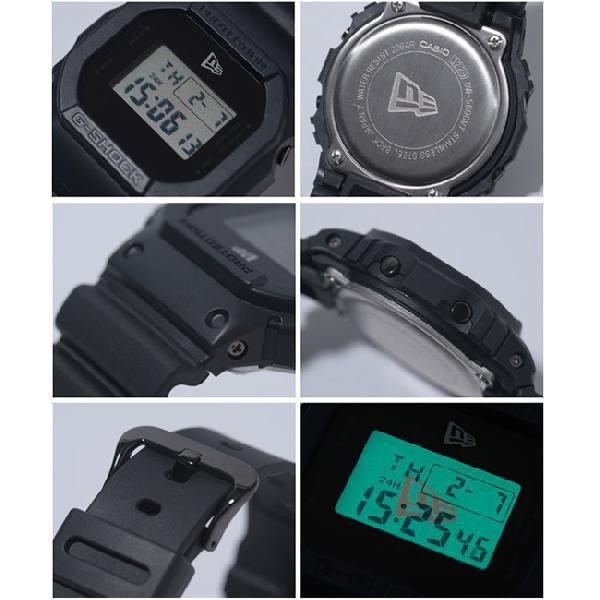 カシオ×ニューエラ ウォッチ バイ ジーショック ブラック ホワイト Casio×NewEra watch by G-Shock Black White cio 03