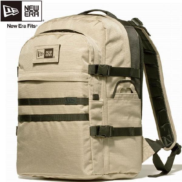 ニューエラ バッグ リュックサック ミッドサイズ バックパック コーデュラ サンドベージュ New Era Bag Mid Size Back Pack Cordura Sand Beige|cio