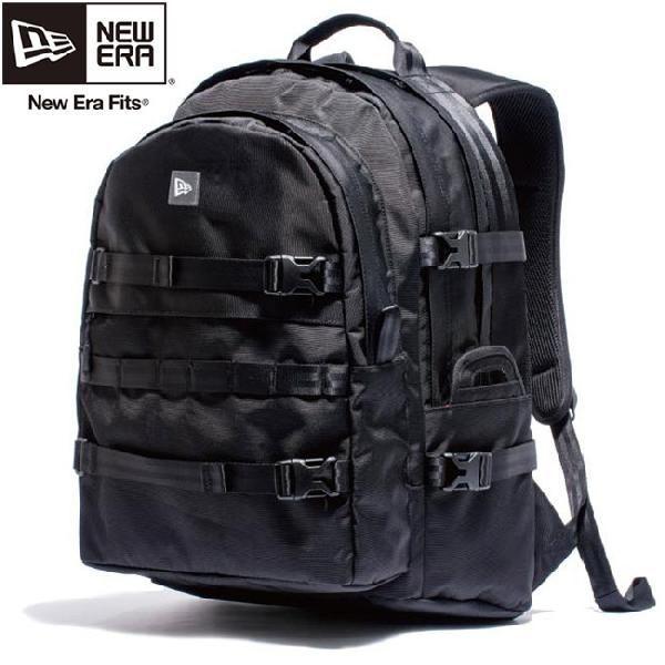 ニューエラ バッグ リュックサック キャリアパック ブラック ブラック ホワイト New Era Bag Carrier Pack Black Black White|cio