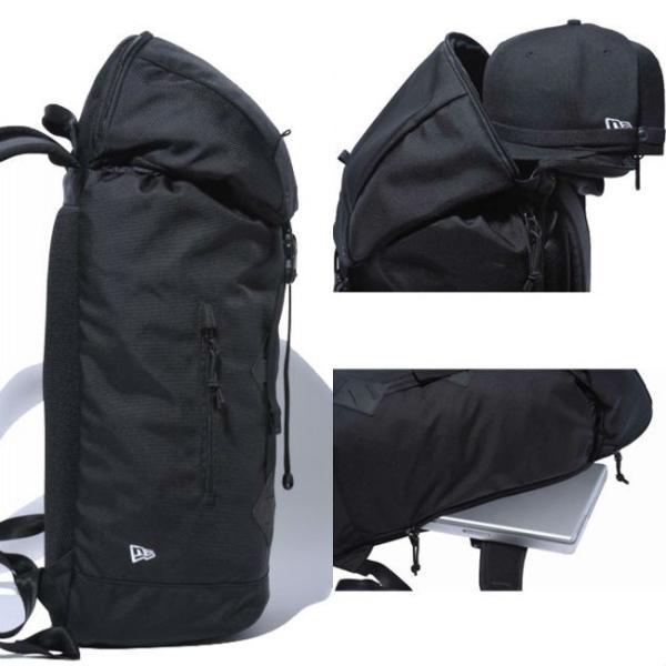 ニューエラ バッグ リュックサック ラックサック ブラック ホワイト New Era Bag Rucksack Black White|cio|02