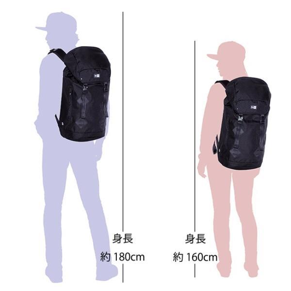 ニューエラ バッグ リュックサック ラックサック ブラック ホワイト New Era Bag Rucksack Black White|cio|03