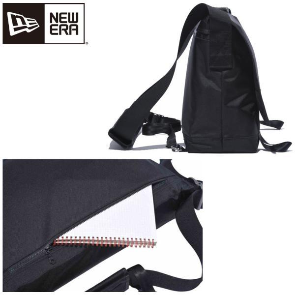 ニューエラ バッグ メッセンジャーバッグ ブラック ホワイト New Era Bag Messenger Bag Black White|cio|02