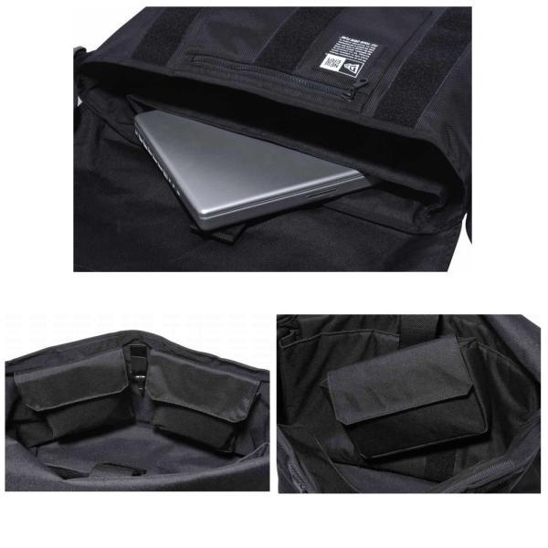 ニューエラ バッグ メッセンジャーバッグ ブラック ホワイト New Era Bag Messenger Bag Black White|cio|03