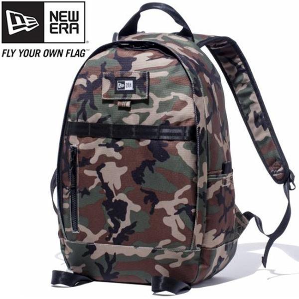 ニューエラ バッグ リュックサック デイパック ウッドランドカモ ブラック ホワイト New Era Bag Day Pack Woodland Camo Black White|cio