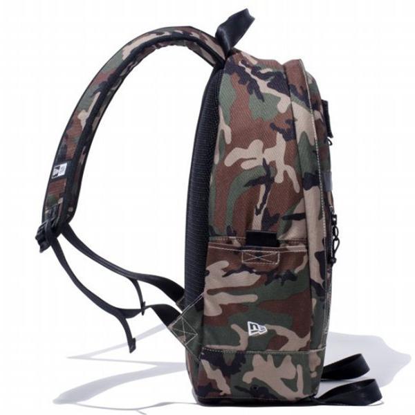 ニューエラ バッグ リュックサック デイパック ウッドランドカモ ブラック ホワイト New Era Bag Day Pack Woodland Camo Black White|cio|02