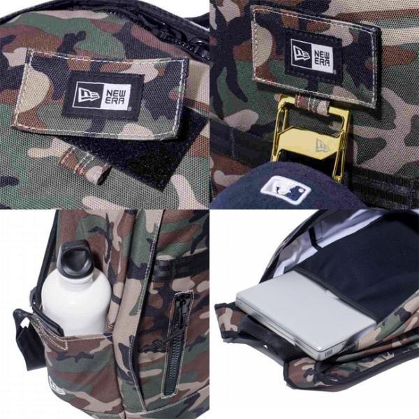 ニューエラ バッグ リュックサック デイパック ウッドランドカモ ブラック ホワイト New Era Bag Day Pack Woodland Camo Black White|cio|03