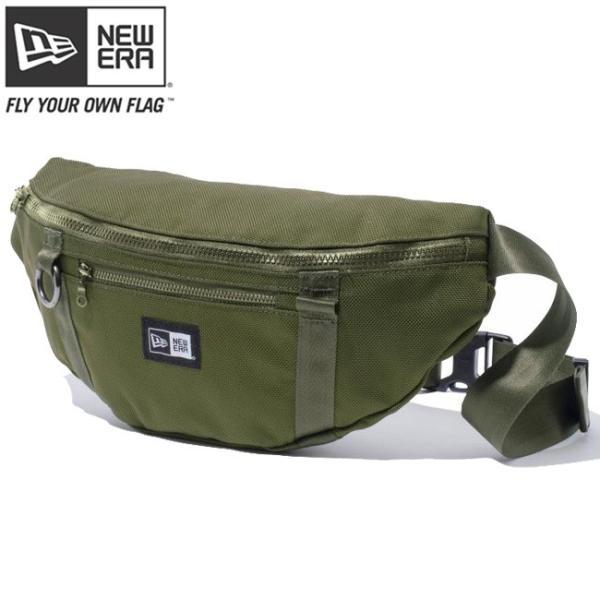 ニューエラ ウエストバッグ アーミーグリーン New Era Waist Bag Army Green|cio