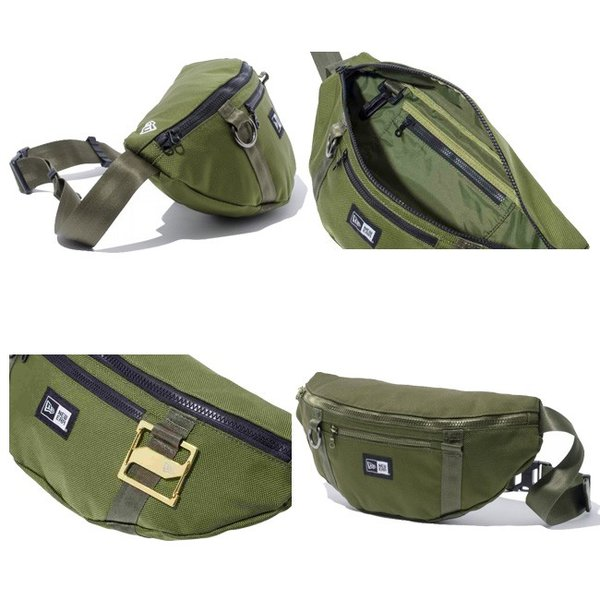 ニューエラ ウエストバッグ アーミーグリーン New Era Waist Bag Army Green|cio|03