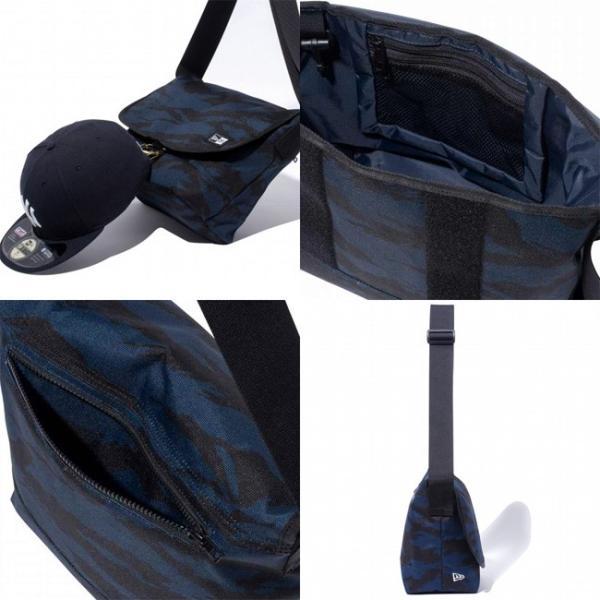ニューエラ ショルダーバッグ タイガーストライプカモネイビー ブラック ホワイト New Era Shoulder Bag Tiger Stripe Camo Navy Black White|cio|02