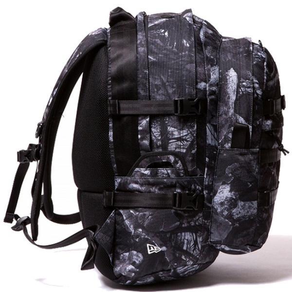 ニューエラ バッグ リュックサック キャリアパック ダークナイトツリー ブラック ホワイト New Era Bag Back Pack Carrier Pack Dark Night Tree Black cio 02