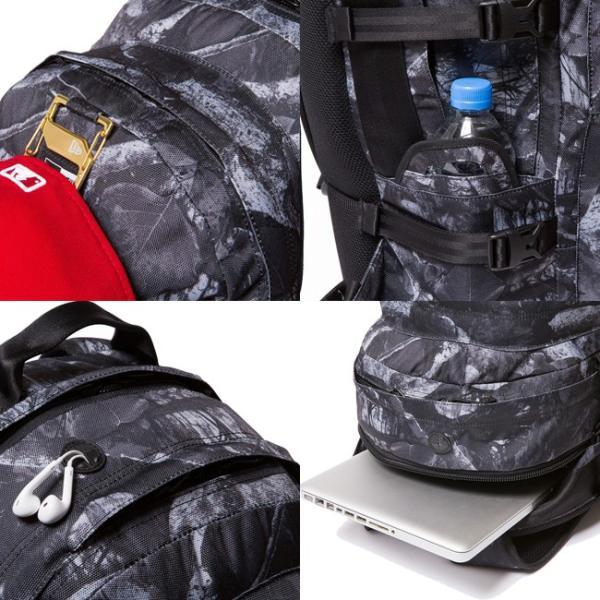 ニューエラ バッグ リュックサック キャリアパック ダークナイトツリー ブラック ホワイト New Era Bag Back Pack Carrier Pack Dark Night Tree Black cio 03