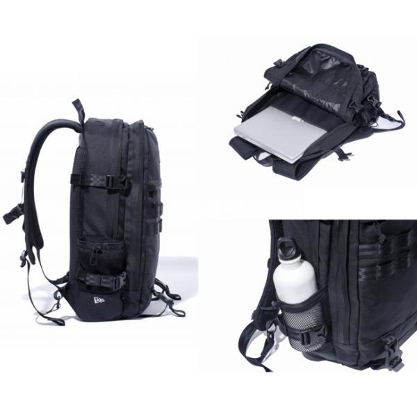ニューエラ バッグ リュックサック スマートパック ブラック ホワイト New Era Bag Back Pack Smart Pack Black White|cio|02