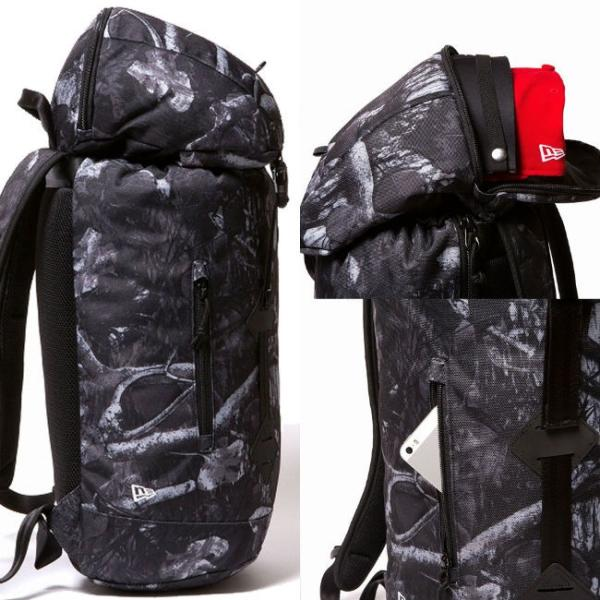 ニューエラ バッグ リュックサック ラックサック ダークナイトツリー ブラック ホワイト New Era Bag Back Pack Rucksack Dark Night Tree Black White cio 02