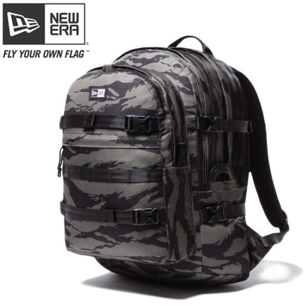 ニューエラ バッグ リュックサック キャリアパック タイガーストライプカモオリーブ ブラック New Era Bag Back Pack Carrier Pack Tiger Stripe Camo Olive|cio