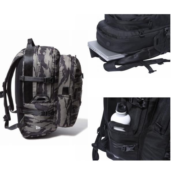 ニューエラ バッグ リュックサック キャリアパック タイガーストライプカモオリーブ ブラック New Era Bag Back Pack Carrier Pack Tiger Stripe Camo Olive|cio|02