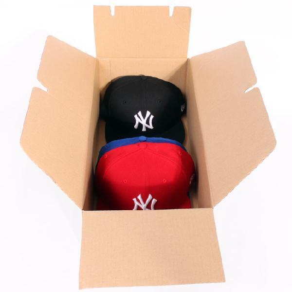 ニューエラ 収納用段ボール ベージュ ブラック New Era Corrugated Paper Box For Storage Beige Black|cio|02