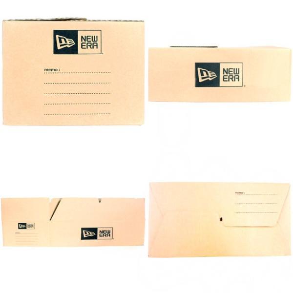 ニューエラ 収納用段ボール ベージュ ブラック New Era Corrugated Paper Box For Storage Beige Black|cio|03