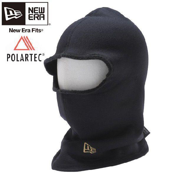 ポーラテック(R)×ニューエラ フリースフェイスマスク ブラック メタリックゴールド Polartec(R)×New Era Fleece Face Mask Black Metallic Gold|cio