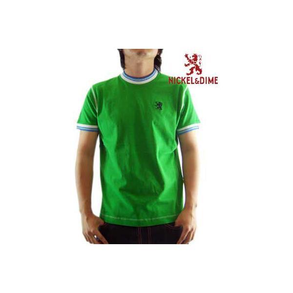 【SALE】NICKEL&DIME SS T-Shrit PARICOLLO MC JERSEY Green S/S Tシャツ パリコロ MC ジャージー グリーン cio